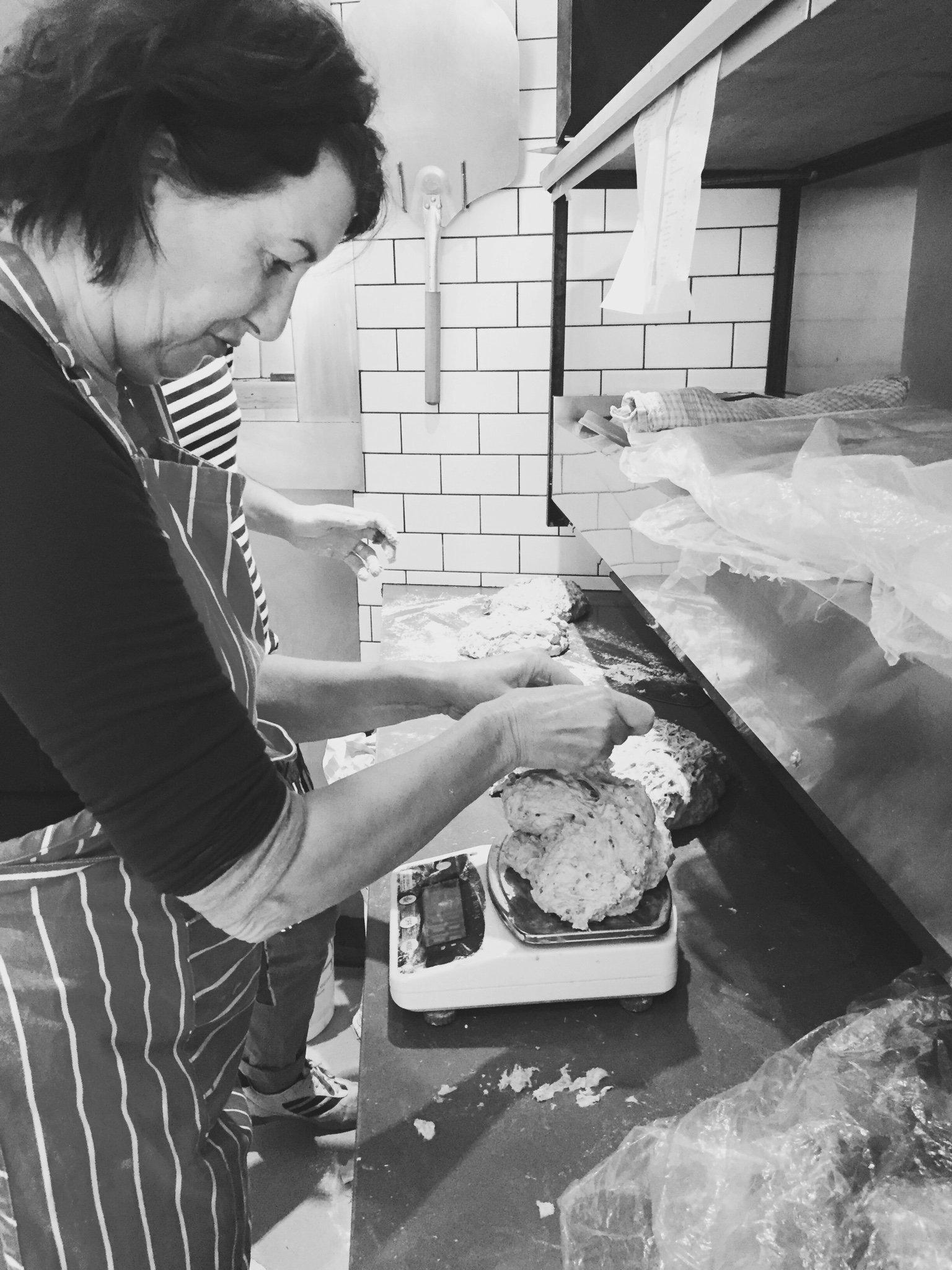 volunteer bakers